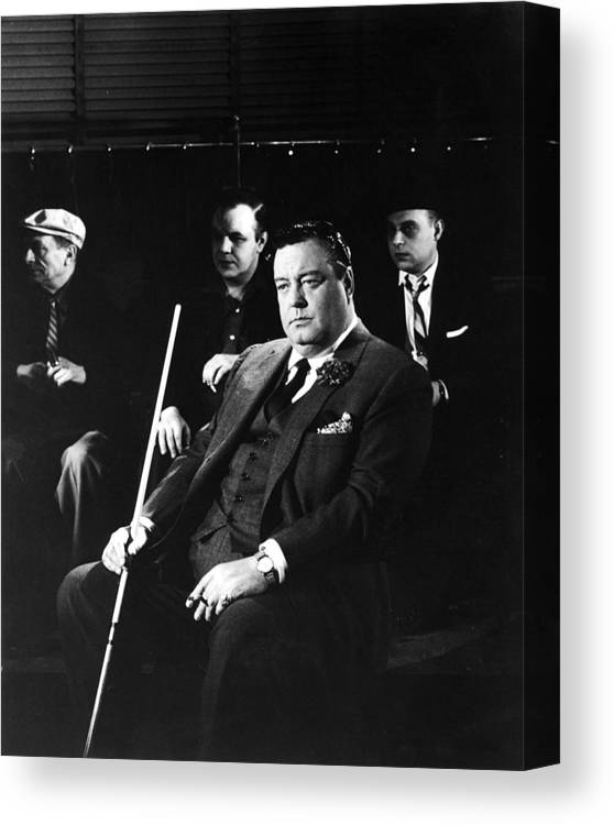 Art Print Poster CANVAS Jackie Gleason in The Hustler