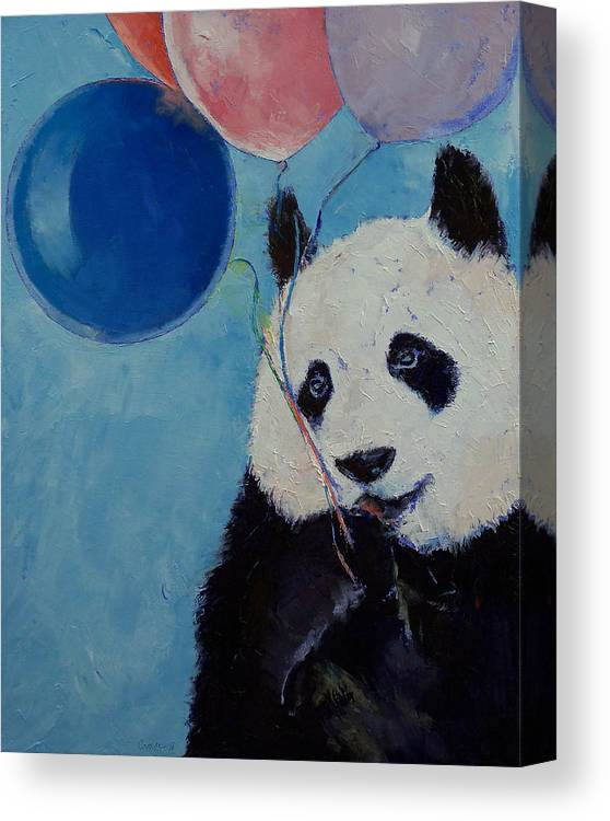 Panda Party Canvas Print Canvas Art By Michael Creese
