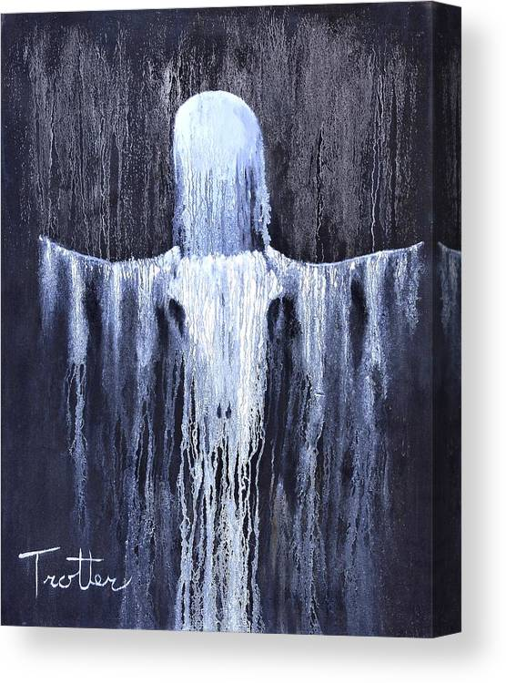 Inspirational Canvas Print featuring the painting Wovoka's Dream by Patrick Trotter