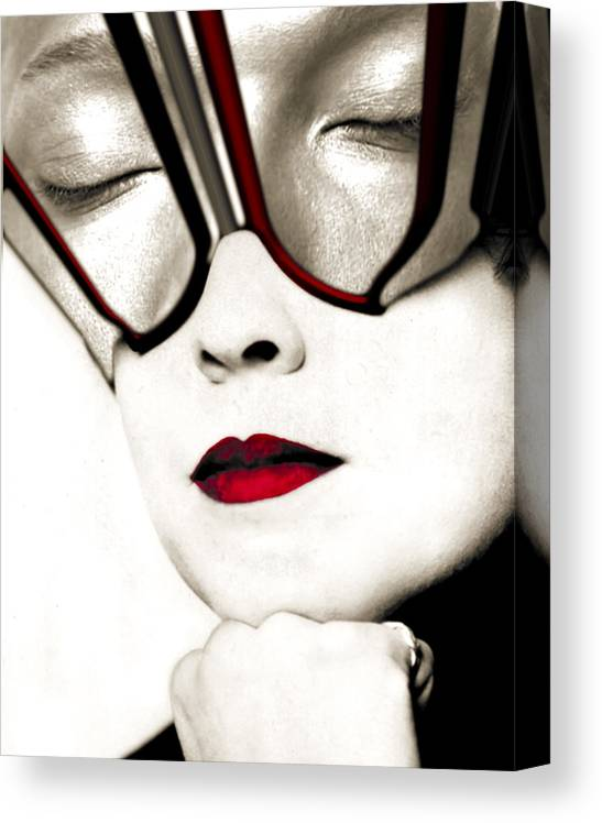 Face Canvas Print featuring the photograph Daydreamer by Jim Painter