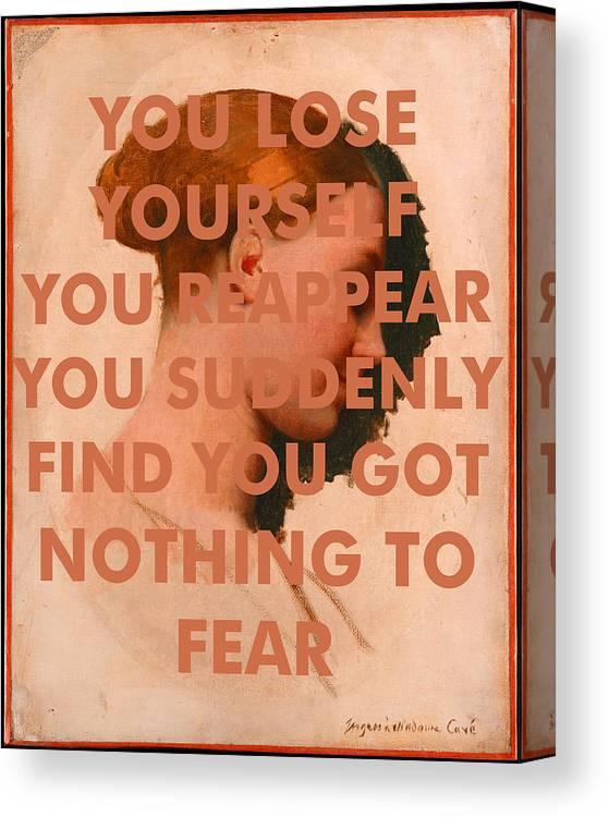 Art & Collectibles Canvas Print featuring the digital art Bob Dylan Art Print by Georgia Fowler