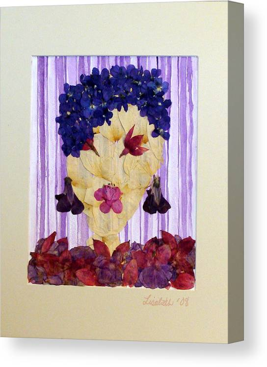 Canvas Print featuring the mixed media Caio Baby by Lisabeth Billingsley