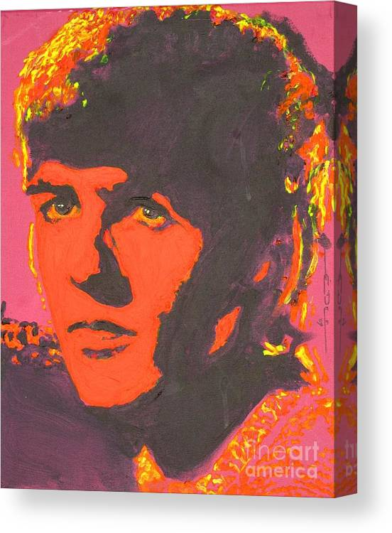 George Harrison Canvas Print featuring the painting George Harrison by Eric Dee