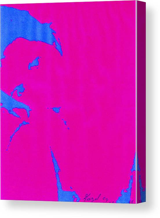 French Girl Canvas Print featuring the photograph Gisele a French Girl by Dawn Johansen