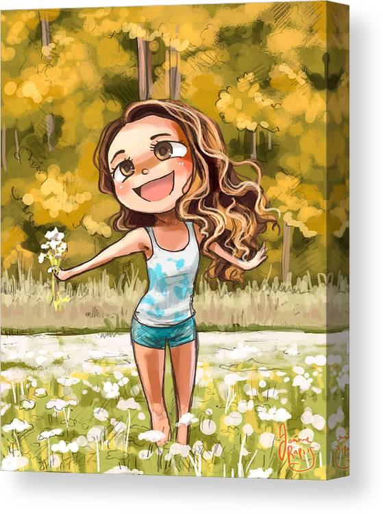 Hi Canvas Print Canvas Art By Joanne Raptis