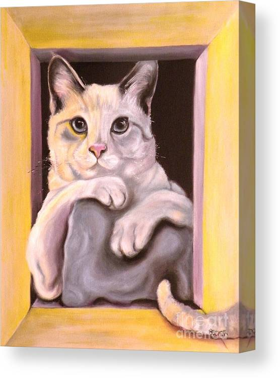 I Have Been Framed Canvas Print Canvas Art By Susan A Becker