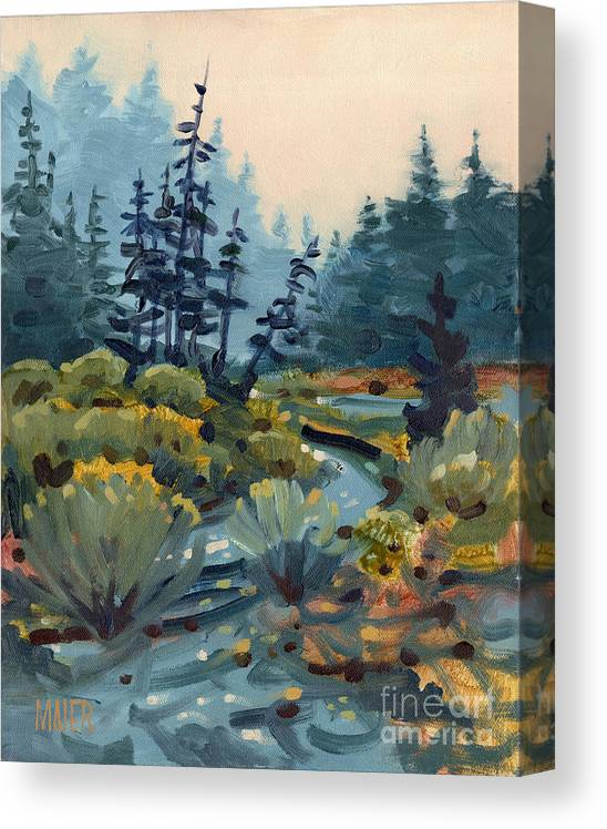 River Bend Canvas Print Canvas Art By Donald Maier