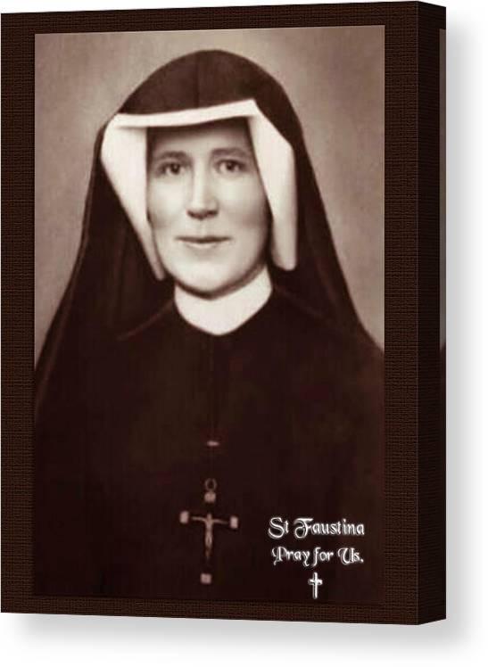 St Faustina Kowalska by Samuel Epperly