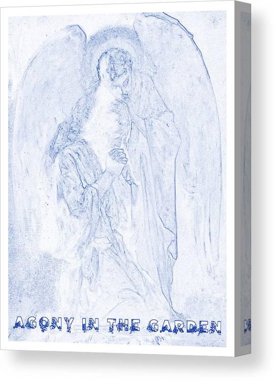 Agony In The Garden By Frans Schwartz V12 Canvas Print Canvas