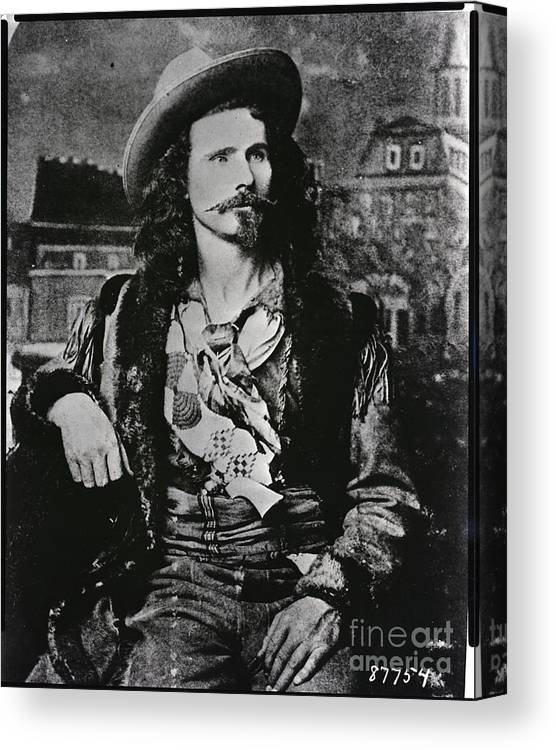 People Canvas Print featuring the photograph Jack Crawford Poet And Scout by Bettmann