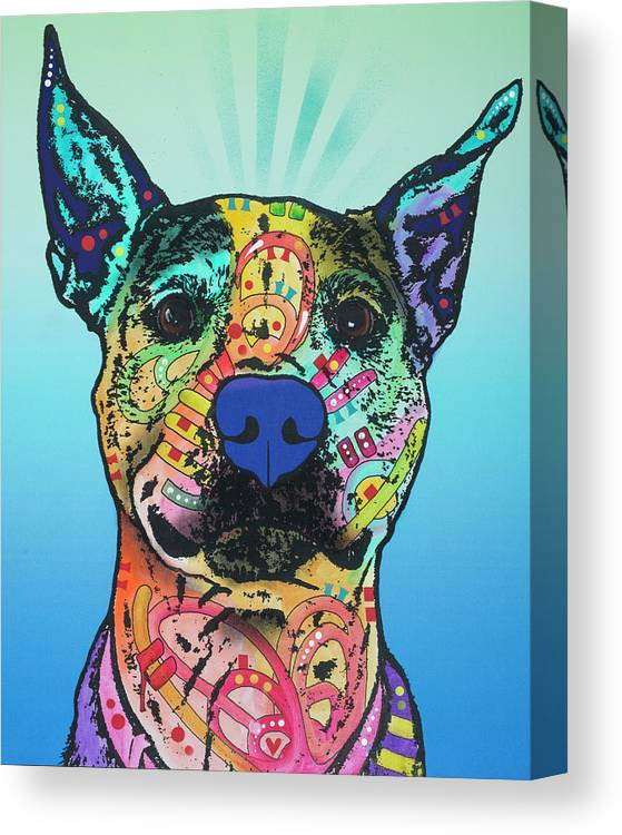 Lani Ruth 25 Canvas Print featuring the mixed media Lani Ruth 25 by Dean Russo