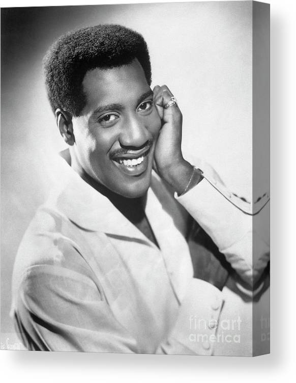 Soul Music Canvas Print featuring the photograph Otis Redding by Bettmann