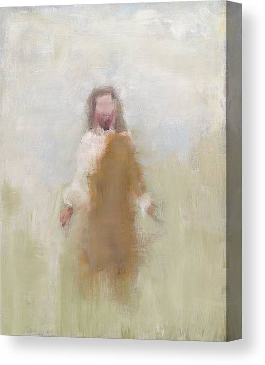 Vertical Canvas Print featuring the painting Savior by Judi Bagnato