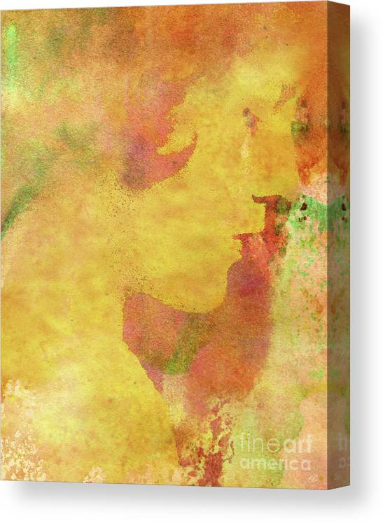 Shades Of You Canvas Print featuring the digital art Shades of You by Kenneth Rougeau