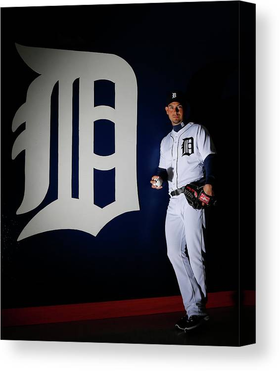 Media Day Canvas Print featuring the photograph Anibal Sanchez by Kevin C. Cox