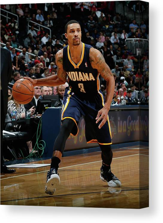 Atlanta Canvas Print featuring the photograph George Hill by Kevin C. Cox