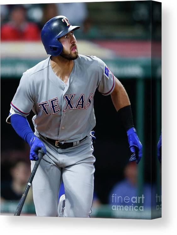 People Canvas Print featuring the photograph Joey Gallo by Ron Schwane