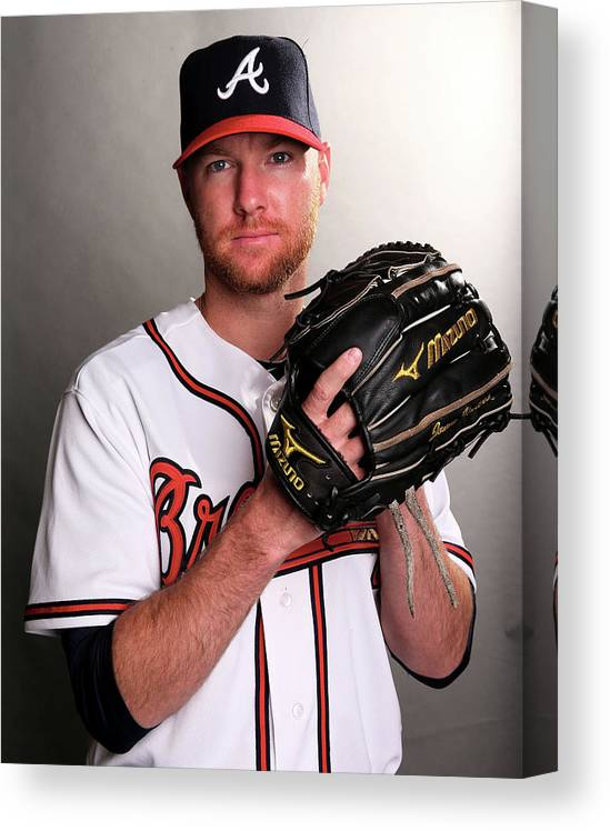 Media Day Canvas Print featuring the photograph Jonny Venters by Elsa
