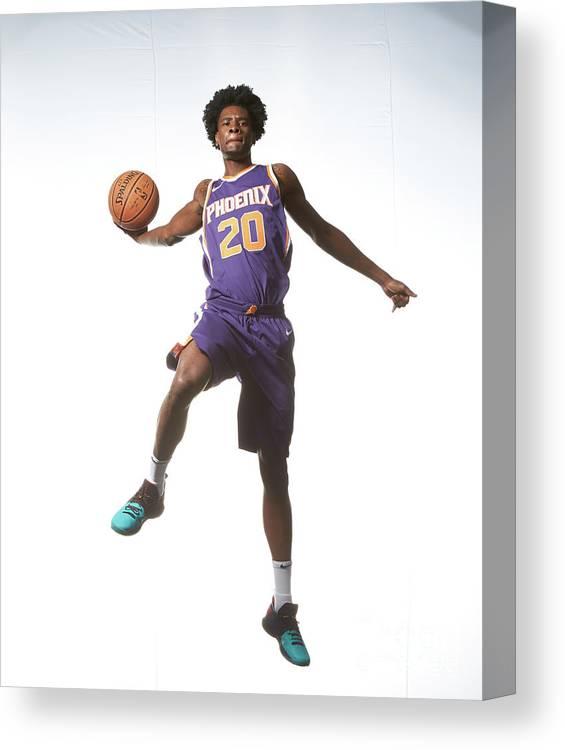 Nba Pro Basketball Canvas Print featuring the photograph Josh Jackson by Nathaniel S. Butler