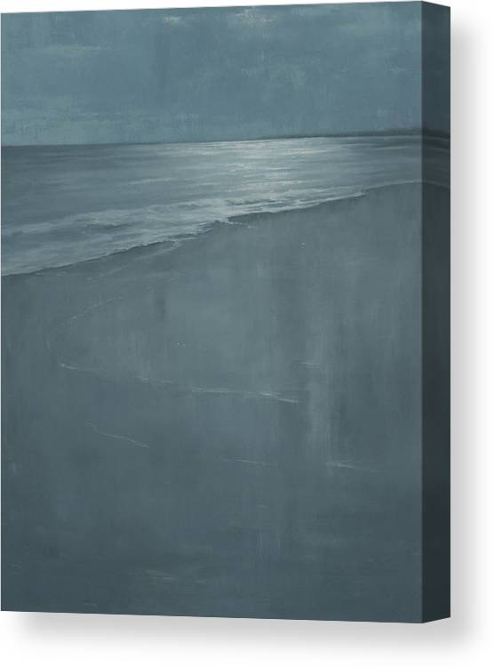 Canvas Print featuring the painting Pacific by Mary Jo Van Dell