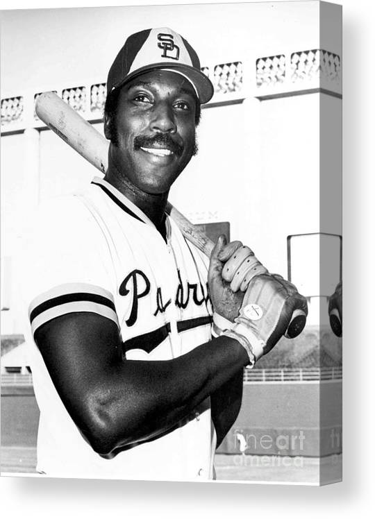 People Canvas Print featuring the photograph Willie Mccovey by National Baseball Hall Of Fame Library
