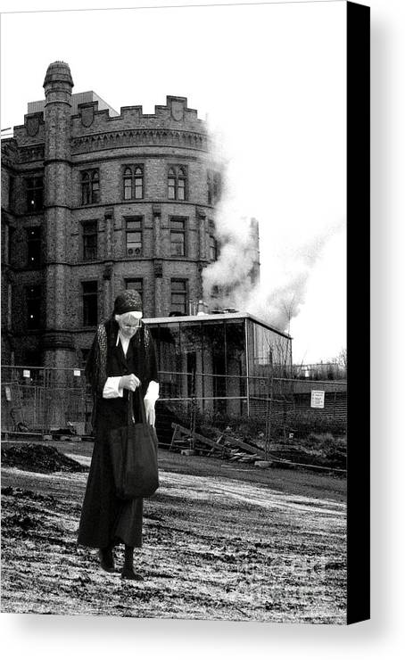 This Image Is � Heather King. You May Not Use This Or Any Of My Images (in Whole Or In Part). All Rights Reserved. Canvas Print featuring the photograph Forgotten by Heather King
