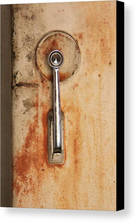 Abstract Canvas Print featuring the photograph Ice Box by John Nelson