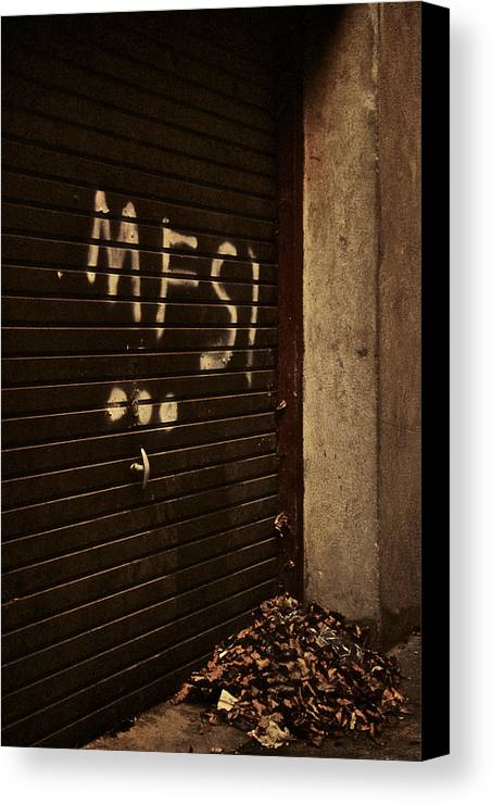 Mfsi Canvas Print featuring the photograph Mfsi... by Odd Jeppesen