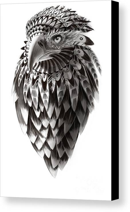 Native American Shaman Eagle Canvas Print Canvas Art By