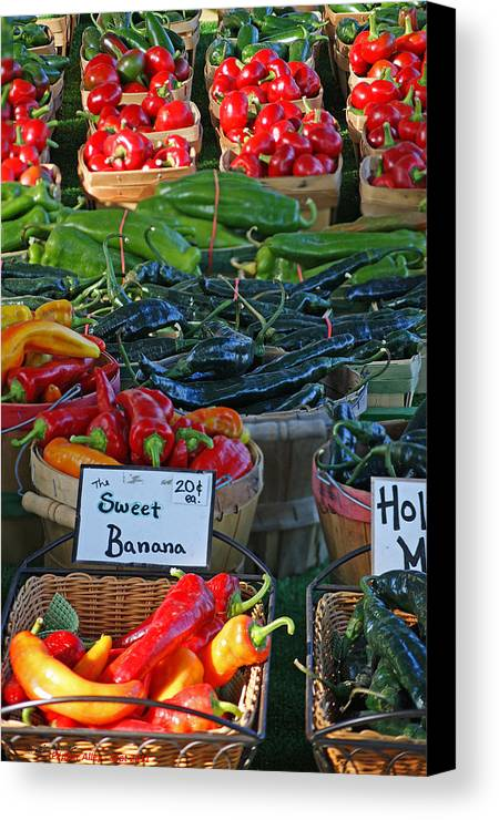 Pepper Canvas Print featuring the photograph Pepper Alley by Steph Maxson