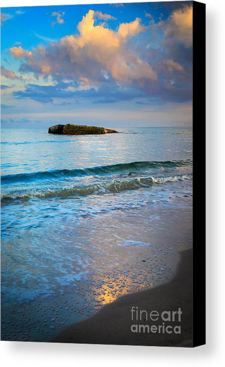 Danish Canvas Print featuring the photograph Skagen Light by Inge Johnsson