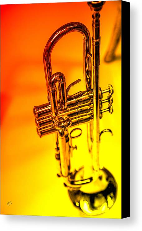 Trumpet Canvas Print featuring the photograph The Trumpet by Karol Livote