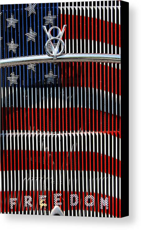 V8 Canvas Print featuring the photograph V8 Freedom by Jani Freimann