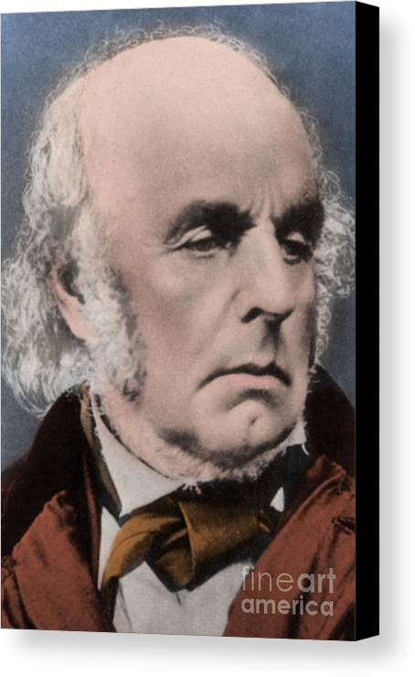 Author Canvas Print featuring the photograph Edward Fitzgerald by Science Source