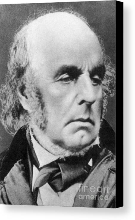 Edward Fitzgerald Canvas Print featuring the photograph Edward Fitzgerald by Science Source