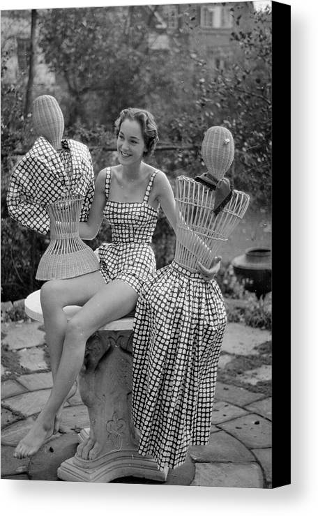 Young Adult Canvas Print featuring the photograph Princess Collection by Kurt Hutton