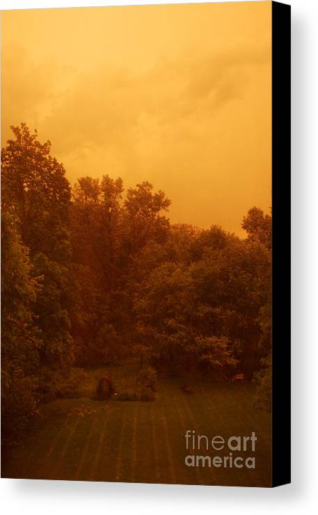 Sunset Canvas Print featuring the photograph Sunset by HD Connelly