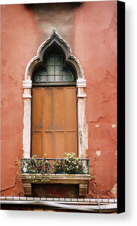 Window Canvas Print featuring the photograph Untitled by Kathy Schumann