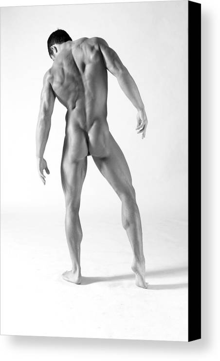 Male Canvas Print featuring the photograph Back A by Dan Nelson