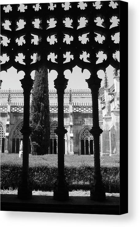 Garden Canvas Print featuring the photograph Behind Yhe Shadow by Raquel Daniell