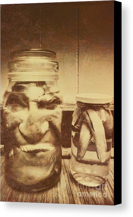 horror canvas print featuring the photograph creepy halloween scenes by jorgo photography wall art gallery