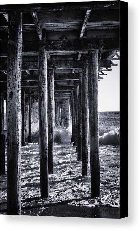 Beach Canvas Print featuring the photograph Hall Of Mirrors by Lora Lee Chapman