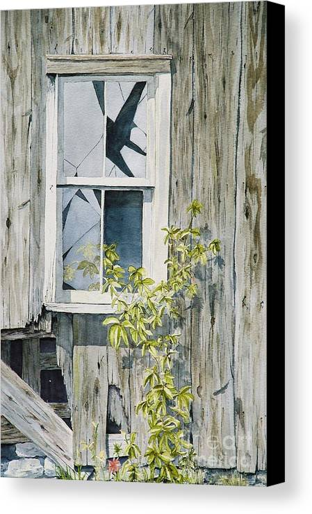 Barn Canvas Print featuring the painting Inner Beauty by Jackie Mueller-Jones
