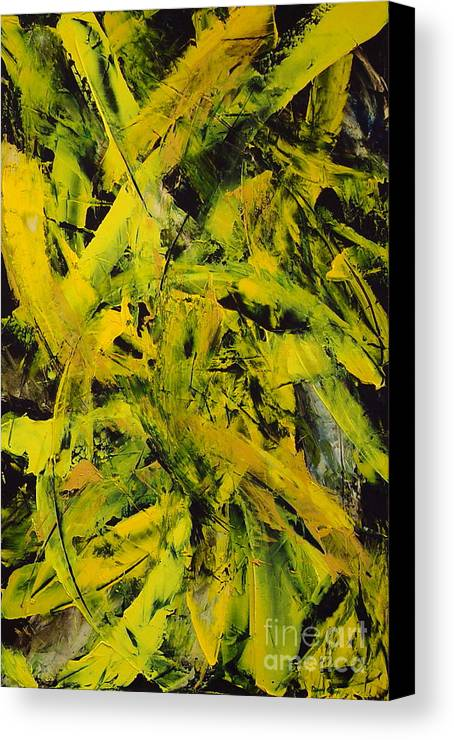 Abstract Canvas Print featuring the painting Transitions Vi by Dean Triolo