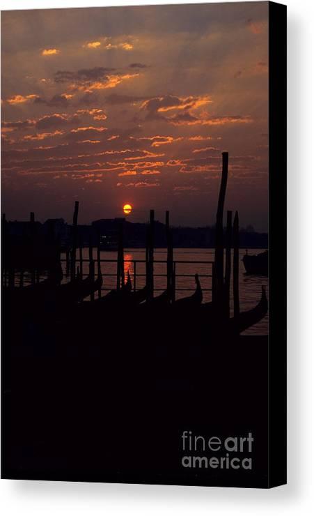 Venice Canvas Print featuring the photograph Venice Sunrise by Michael Henderson