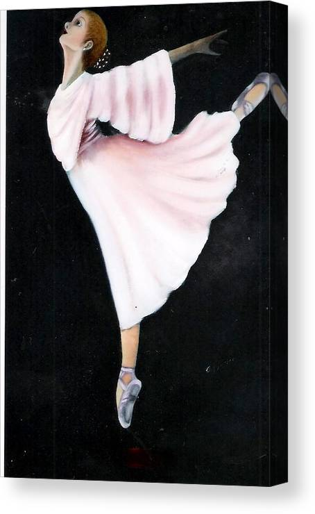 Dance Canvas Print featuring the painting Ballet Practice by Felix Turner