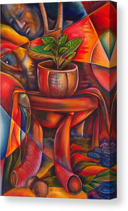 Paintings Canvas Print featuring the painting Still Life by Horacio Montes