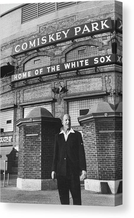 Timeincown Canvas Print featuring the photograph Bill White by Francis Miller