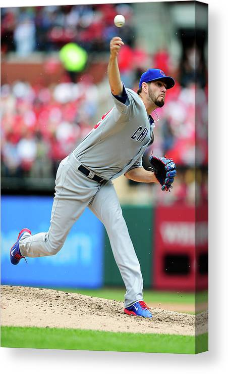 St. Louis Canvas Print featuring the photograph Jason Hammel by Jeff Curry