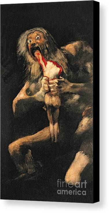 romanticism goya and saturn devouring his Saturn devouring his son is the name of a painting by the spanish romantic artist, francisco goya it was painted in between 1819-23 using oil paint on a wall, later transfered to canvas in the period after goya's death.